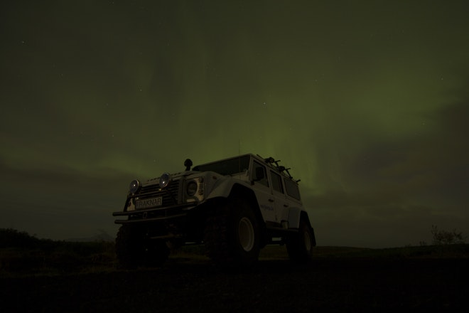 Private Superjeep Northern Lights