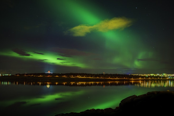 Northern Lights Mystery with Japanese Guidance